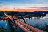 Austin, Pennybacker, bridge, 360 bridge,night, dark, sunset, Lake Austin, colors, texas hill country, texas scenery, boats, hill country,  texas landscape, recreational, boating, swimming, picnicing