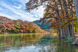 Garner State Park, Frio river, autumn, foliage, Texas landscape, texas hill country, fall, fall colors, Old Baldy, canvas, prints, Texas, landscape,  fall landscape, texas fall landscape