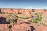 Anasazi Indian villages built in the cliffs, Anasazi lived here for 5000 years, Arizona, Canyon de Chelly, Canyon de Chelly from above, Indian life, Navajo Indian Reservation, Red rock landscapes, Vie