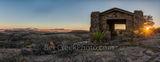 Davis Mountain Overlook, sunset, panorama, pano, sunset, colors, rock pano, panorma, pamoramic, building, Texas landscape, mountain, Davis Mountain State Park, Fort Davis, west texas, Texan, USA, Unit