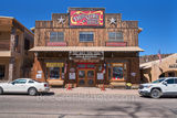 Fort Davis Drug Store and hotel, downtown, meals, soda fountain, fountain drinks, old timey feel, drug counter, burgers and shakes, Fort Davis, Davis mountains, west texas