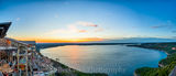 Austin, Lake Travis, Oasis, boating, landscape, pano, panorama, restaurant, spectacular, sunset, tourist, view, water
