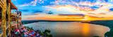 Oasis Sunset Panorama - Austin Lake Travis