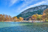 Frio River, Garner State Park, Old Baldy, blue green waters, blue water, colorful, cypress trees, fall, landscape, landscapes, rural, rural landscape, rural landscapes, texas, texas landscape