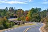 Fall, Ozarks, bridge, windy, road, autumn, colors, colorful, scenic, drive, tree, season, october, fall scenery, fall colors