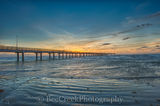 Port A, Port Aransas, Sunrise, Texas Coast, Texas beach, beach, coast, coastal, fishing pier, ocean, sea, sea weed, seascape, surf