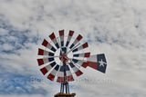 Patriotic, Windmill, red, white, blue, west texas, Terlingua, lone star