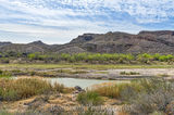Big Bend State Park, Mountains, Rio Grande River, blue sky, landscape, mexico, scenic