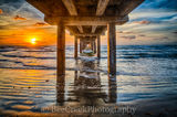 Caldwell pier, Port A, Texas, pier, Port Aransas, Sunrise, Coast, beach, coastal, landscape, beach, ocean, fishing, seascape, gulf cost images, Texas beaches