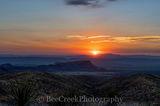 Mountains, National Park, Santa Elena Canyon, Sotal Vista Overlook, big bend, desert, landscape, sotals, sunset