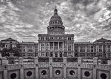Austin, Capitol of texas, Texas Capitol, black and white, bw, fine art, Texas state capitol, rotundra, skyline, downtown, city, State Capital building, Texas State Capitaol, state Capitol, Capital of