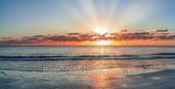 Driftwood beach, Georgia, sunrise, jekyll island, rays, ocean, alantic ocean, driftwood, boneyard beach, stumps, trees, pano, panorama, coast, coastal, sandy beach, beach, sea and sand, Golden Isles