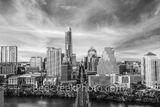 Austin skyline, aerial, capitol, capital, downtown, skyline,  city, cityscape, Congress Ave, high-rise, buildings, Frost, Austonian, One Congress Plaza, Radisson, One Congress Plaza, Ashton Condos, On