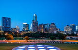 austin, skyline, cityscape, twilight, city, downtown, street, buildings, long center, high rise, skyscraper, first street, austonian, w, auditorium shores, beecreekphoto.com