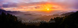 smoky mountains, blue ridge mountains, sunset, haze, smoke, blue ridge parkway, blue ridge mountain, horizon, soft glow, north carolina, nc,  asheville, south carolina, great smoky mountain park, natu