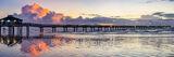 Caldwell Pier Sunrise Port Aransas Texas Coast