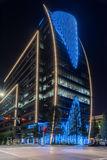 Dallas Hunt Oil Building, cityscape, architecture, modern, urban, blue, Dallas Cowboys, downtown, art district