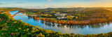 texas, austin texas, austin pennybacker bridge, austin 360 bridge, austin tx, city of austin, lake austin, 360 bridge, bald cypress, fall, autumn, reflections, austin skyline, texas hill country,