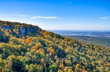 fall, overlook, autumn, october, mountain, color, colorful, orange, reds, green, forest, arkansas, USA, United States, beauty, nature, ozarks, cameron bluff, Ouachita National Forest, fall scenery