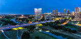 Fort Worth, Fort Worth skyline at twilight, 