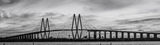 Houston, Baytown, La Porte, Texas, Fred Hartman Bridge,BW, black and white, cityscape, cityscapes, ship channel,landscape, landscape, architectural, architecture, bridge, pano, panorama