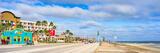 Galveston Seawall Pano