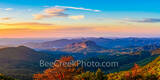 Smoky mountain, sunrise, tree, red, yellow, blue ridge parkway, overlook, valley, looking glass rock, blue ridge mountains, NC, Smoky Mountains National Park, scenic, autumn, vacation, travel, destina