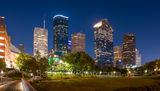 Houston Skyline from Pedestrian Bridge