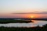 Jekyll Marshland Sunset