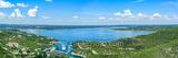 Lake Travis Aerial View Pano