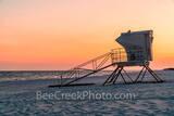 Pensacola Lifeguard Station Sunset