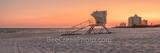 lifeguard station, sunset, sunrise, silouette, colorful, sky, barrier island, santa rosa, the gulf, beach, beaches, pensacola beach, florida panhandle, pensacola, seashore, seascape,