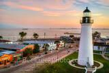 Port Isabel Lighthouse, sunrise, port isabel, downtown, shops, city, landmark, historic, city, lighthouse keepers cottage, coastal, south padre island, beach, coast, queen isabela causeway, bridge,