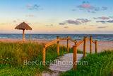 Rockport Beach Sunset - Texas Coast