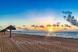 Rockport Texas Beach Sunrise Glow