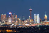 texas, san antonio skyline, san antonio skyline pictures, image of san antonio skyline, twilight, photo, pano, panorama, panoramic, architecture, san antonio cityscape, san antonio, skyline,
