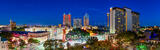 San Antonio Skyline Pano, riverwalk, San Antonio Skyline, Grand Hyatt, Hilton, Marriott, San Antonio, Tod Grubbs, Torch or Friendship, Tower of Americas, beecreekphotography, city, cityscape, cityscap