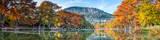Scenic Fall Frio River Pano 3717
