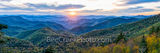 smoky mountain,  sunset, panorama, pano, panoramic, blue ridge mountains, blue ridge parkway, view, scenic, fall, autumn, fall colors, applachian mountain, north carolina, tennessee, virgina, applachi