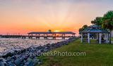 St. Simon Pier, sunset, gazebo, sun set, waters, east coast, golden isles barrier island, beach, tourist
