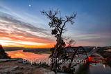 Sunrise, Austin 360 Bridge, sunset,  Pennybacker bridge, Austin, Lake Austin, loop 360, bridge, Texas, sunrise glow, orange, landmark, tourist, photo, visitors
