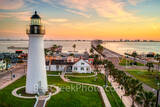 Port Isabel Lighthouse, sunrise, port isabel, landmark, historic, city, lighthouse keepers cottage, coastal, south padre island, beach, coast, queen isabela causeway, bridge, valley, south texas