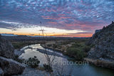 Ocotillo cactus, ocotillo, Santa Elena Canyon, Big Bend National park, sunrise, Rio Grande river, canyons, mountain, landscape, desert, southwest, US, United States, cliffs, dawn, colors, pre-sunrise
