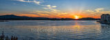 lake hamilton, sunset, hot springs, arkansas, city, pano, panorama, lake, forest, beautiful, fall