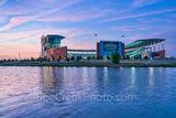 Waco, sunset, McLane Stadium, Baylor University, dusk, blue hour, Baylor Bears, stadium , University of Baylor, school, Brazos river, campus, landmark, city, iconic,