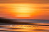 Surreal Coastal Sunset Glow