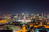 Austin, Capital, aerial, texas, cityscapes, skylines, downtown, city, cities, night, dark, city lights, urban, historic, history, austin skylines, austin cityscapes