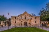 Alamo, San Antonio, Santa Anna, city, cityscape, cityscapes, downtown, dusk, historic, history, landmark, mexico, mission, missions, tourist, twilight, the alamo