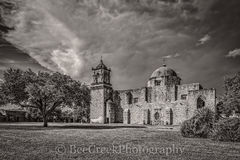 Mission San Jose, National Historic Landmarks, San Antonio, blaxk and white, destinations, downtown, historic, indians, landmark, mexicans, spanish missions, texas missions, texians, tourist, tours, t
