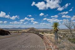 Alpine, Texas, west texas, blue, clouds, landscape,